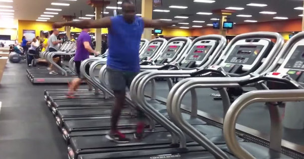 I Was Shocked When I Saw What This Guy Did On A Treadmill